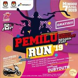 KPU DIY Gelar Pemilu Run, Berhadiah Motor Yamaha Nmax