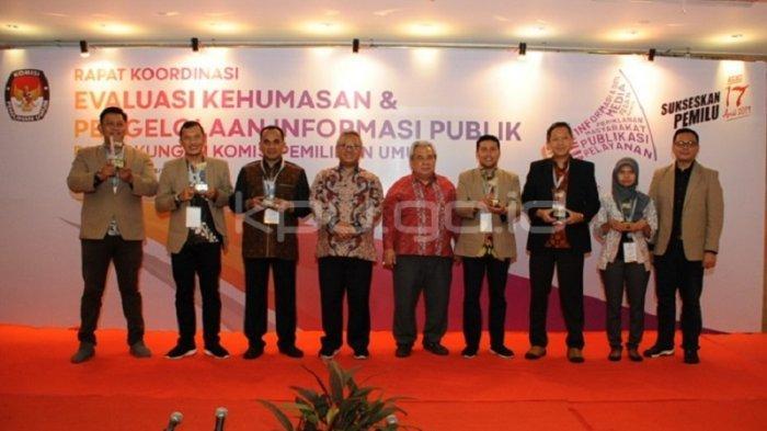 KPU DIY Kembali Meraih Penghargaan yang Diberikan oleh KPU RI