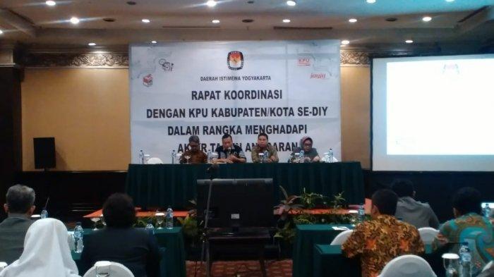 KPU DIY Targetkan Penyerapan Anggaran Terpenuhi Melalui Rapat Koordinasi