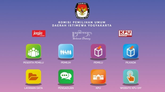 Berikut Link Pengumuman DCT DPR RI Dapil DIY, DPD RI Dapil DIY dan DPRD DIY
