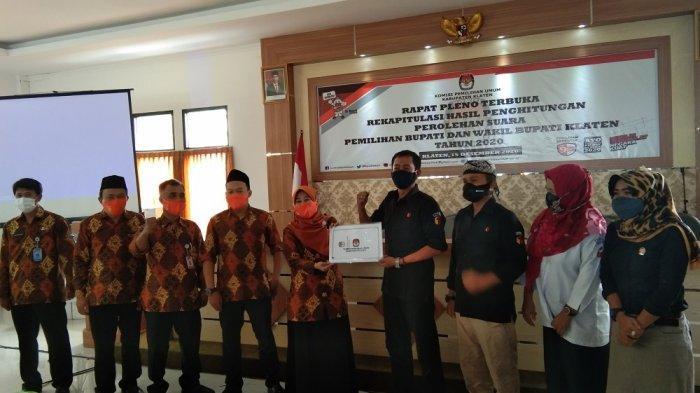 KPU Klaten Rampungkan Rekapitulasi Tingkat Kabupaten, Sri Mulyani Raih Suara Terbanyak
