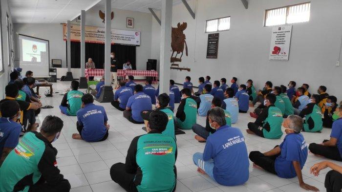 KPU Kota Magelang Fasilitasi Pemungutan Suara untuk Warga Binaan Lapas