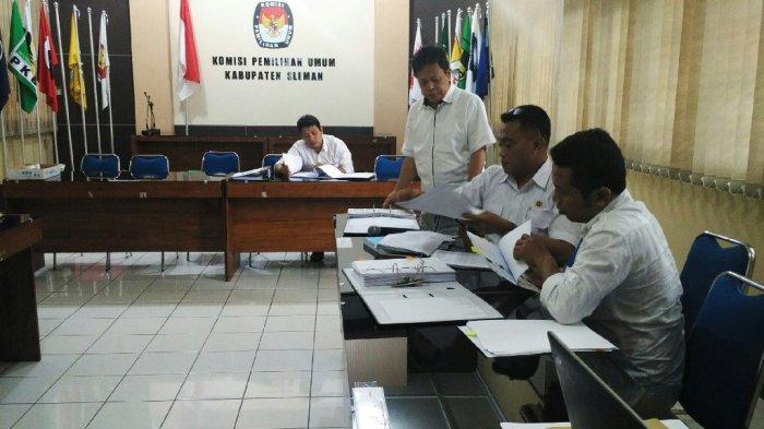 KPU Sleman Lakukan Tahap Penelitian Administrasi