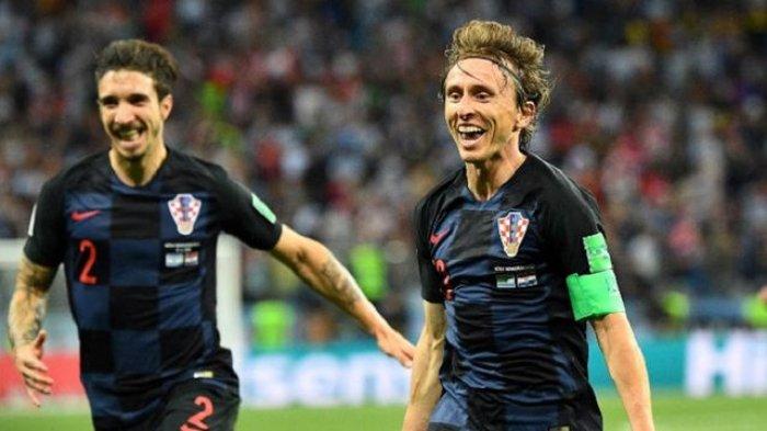 Kapten Kroasia Luka Modric Bercerita Tentang Hasil Laga Piala Dunia