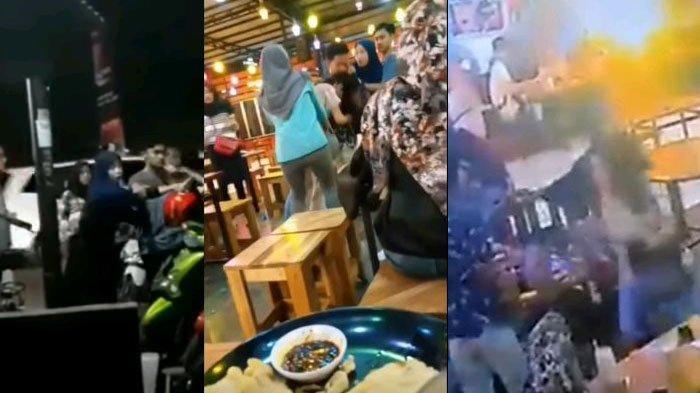 Kronologi Dua Mahasiswi Kampus di Purwokerto Saling Siram Air Es dan Jambak Rambut