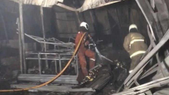 Kronologi Kebakaran Pasar Kambing Tanah Abang Hingga Hanguskan 136 Lapak dan 40 Kios