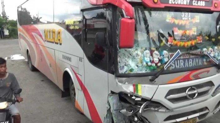 Kronologi Kecelakaan Maut Bus vs Motor di Madiun, Warga Magetan Tewas di Tempat