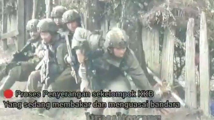 Kronologi Kontak Tembak TNI-Polri vs KKB Papua di Kawasan Bandara Aminggaru