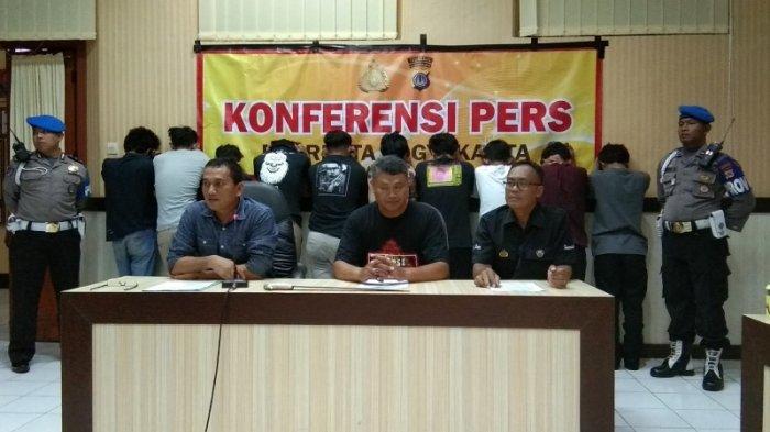 Kronologi Penangkapan Terduga Pelaku Klitih di Ring Road, Polisi Sempat Dilempari Botol Miras