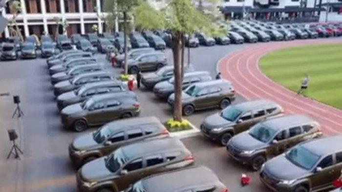 KSAD Bagikan Kendaraan Dinas Baru bagi Pejabat di TNI AD, Ada Land Cruiser Prado, Mitsubishi Pajero