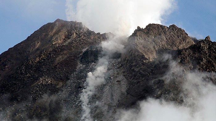UPDATE Gunung Merapi Minggu 17 Januari, Gempa Guguran Tercatat 19 Kali, Gempa Hybrid 1 Kali