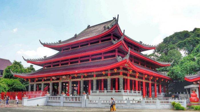ilustrasi kuil china