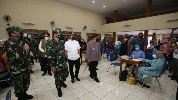Kunjungi Lanud Adisutjipto, Kapolri Siap Fasilitasi Percepatan Vaksinasi Massal di DI Yogyakarta