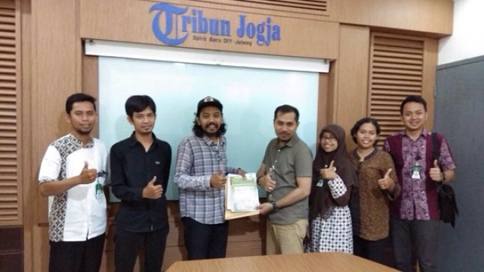 Lembaga Ombudsman DIY Bersilaturahmi ke Kantor Tribun Jogja