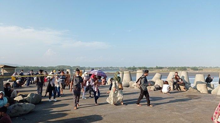 Kunjungan Wisatawan Pantai Glagah di Kulon Progo Melonjak Hingga 10 Ribu Orang di H+2 Idul Fitri