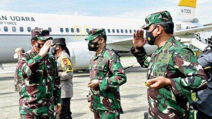 Panglima TNI Marsekal Hadi Tjahjanto Mutasi dan Naikan Pangkat 136 Perwira Tinggi TNI AD, AL dan AU