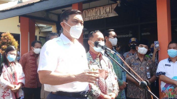 Kunjungi Isoter Hotel Borobudur Indah Magelang, Menko Marves Beri Semangat pada Pasien