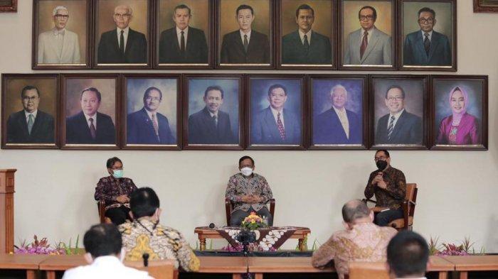 Kunjungi UGM, Menkopolhukam Mahfud MD Ajak Akademisi Selamatkan Bangsa Indonesia
