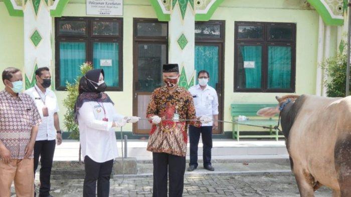 Bupati Klaten Sri Mulyani : Jangan Sampai Menimbulkan Klaster Kurban