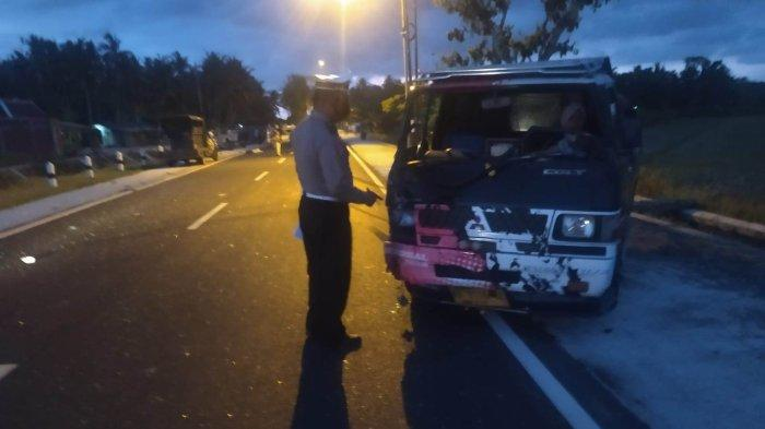 BREAKING NEWS: Kecelakaan di Jalan Umum Nagung-Brosot Kulon Progo, 2 Orang Meninggal
