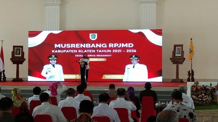 Laksanakan Musrenbang RPJMD, Bupati Klaten Sri Mulyani: Harus Tawarkan Optimisme pada Masyarakat