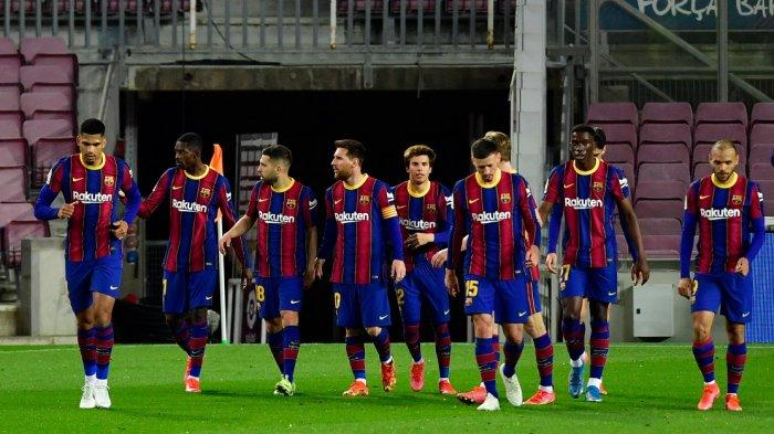 Rating Pemain FC Barcelona vs Valladolid, 1 Poin di Belakang Atletico Madrid