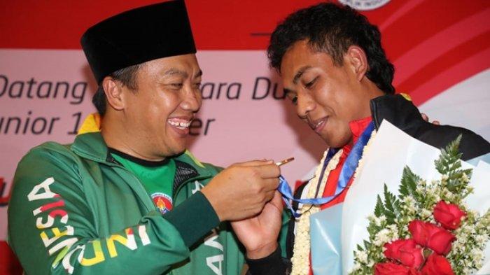 Lalu Muhammad Zohri Pulang ke Indonesia, Menpora Beri Hadiah Uang Rp250 Juta dan 1 Kg Emas