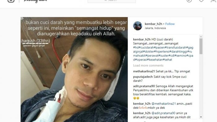 Lama Tak Terdengar Kabarnya, Hamzih KDI 5 Ternyata Menderita Gagal Ginjal dan Harus Rutin Cuci Darah