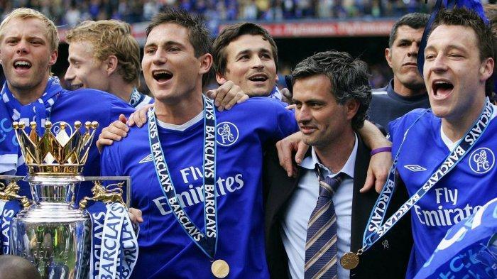 CHELSEA: Bisakah Frank Lampard Ulangi Kejayaan Musim 2004/2005 Saat Bersama Jose Mourinho? - Tribun Jogja
