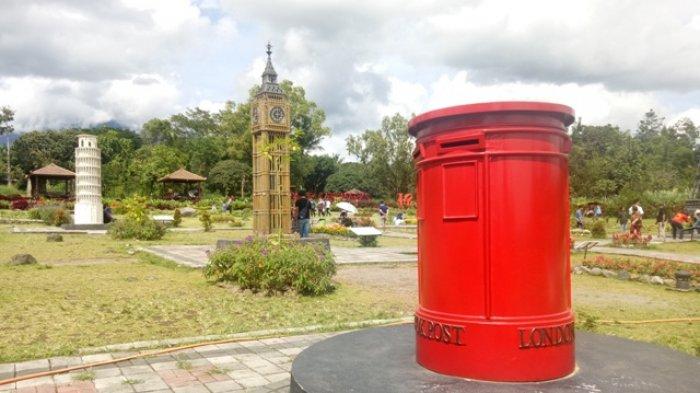 Sejumlah Landmark Dunia Tersaji di Merapi Park Sleman