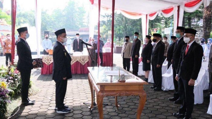 Lantik Pejabat Baru Dirut Obwis Taman Kyai Langgeng, Pemkot Magelang Harapkan Ada Perbaikan