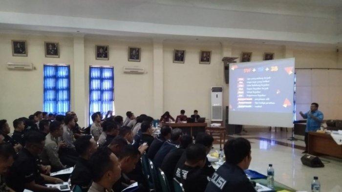 Jajaran Polda DIY Pelatihan Jurnalistik Bareng Tribun Jogja