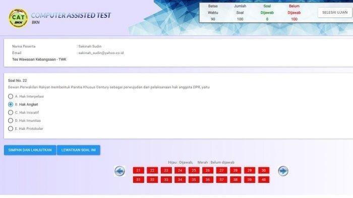 Kumpulan Soal Dan Jawaban Latihan Skd Cpns 2020 Link Download Materi Twk Tiu Dan Tkp Tribun Jogja