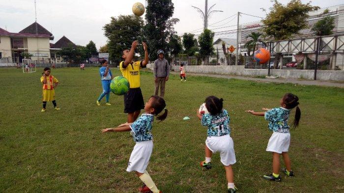 SSB Bintang Putra Mlati Buka Kelas Sepak Bola Khusus Putri