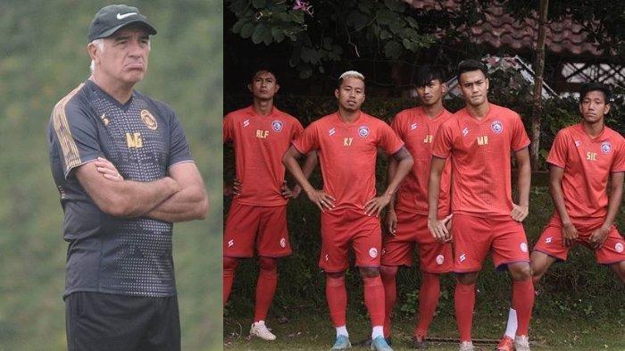 Jadwal Liga 1 2020 Arema FC vs Persib Bandung Dibayangi Wabah Virus Corona, Ini Respon Mario Gomez