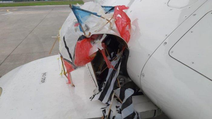 Insiden Layangan Tersangkut di Pesawat, Pilot Lihat Banyak Layangan Sebelum Mendarat di Adisutjipto