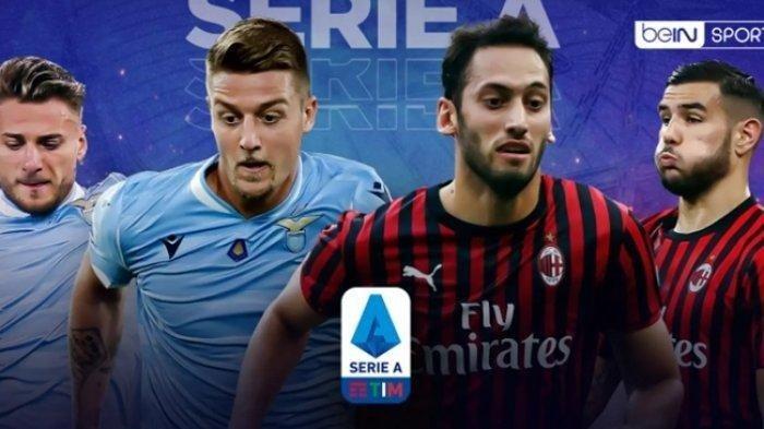 Lazio vs AC Milan, Liga Italia