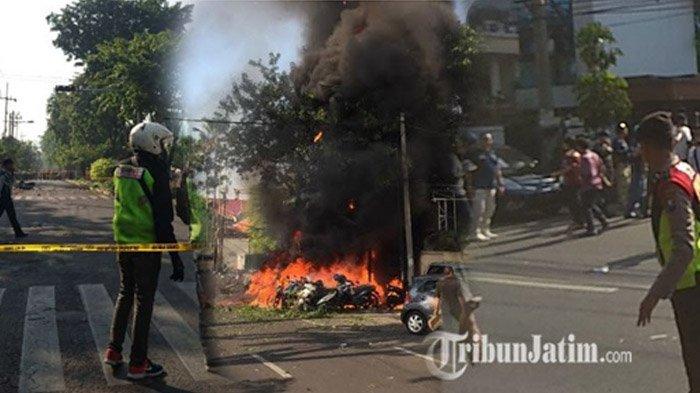 Atasi Isu Terorisme, Risma Larang Warga Bergerombol di depan Gereja