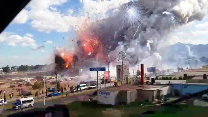 Daftar Peristiwa Ledakan Kembang Api Paling Mematikan dalam Sejarah