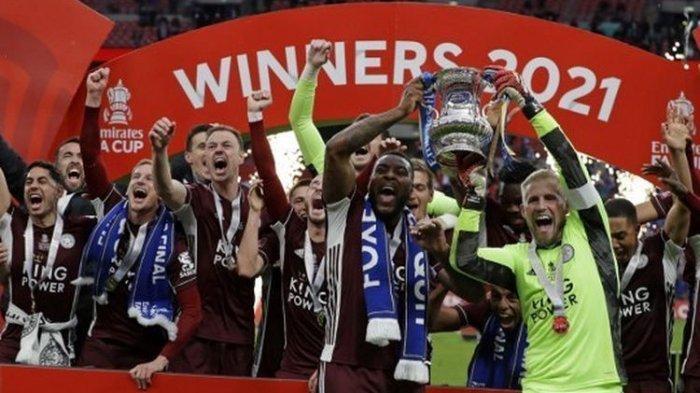 Hasil Final Piala FA: Leicester City Juara , Bekuk Chelsea, Ini Lanjutan Kisah Dongeng The Foxes
