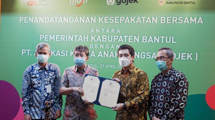 Gojek Perkuat Bantul Kabupaten Cerdas dengan Pemberdayaan Ekonomi Digital