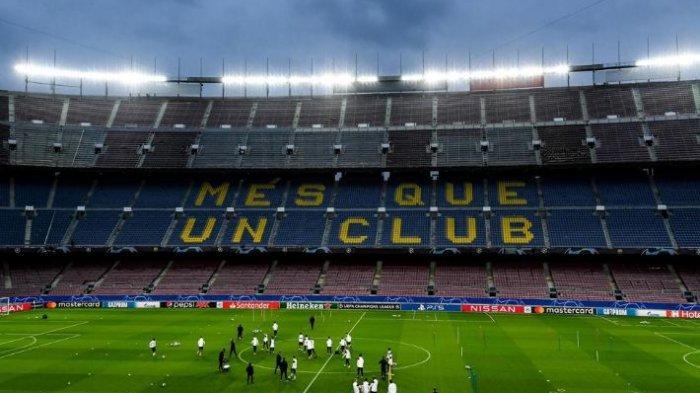 Barcelona dan Paris Saint-Germain (PSG) bakal jumpa di leg pertama babak 16 besar Liga Champions di Camp Nou, Rabu (17/2/2021) pukul 03.00 WIB.