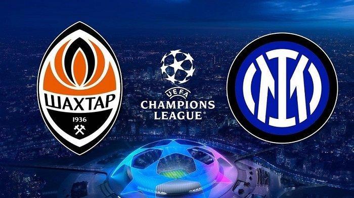 Siaran Langsung Matchday2 Fase Grup Liga Champions Shakhtar Donetsk vs Inter Milan di SCTV Hari Ini