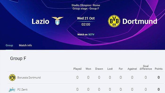 LIGA CHAMPIONS UEFA Malam Ini, Prediksi Pemain Tim Liga Italia vs Bundesliga