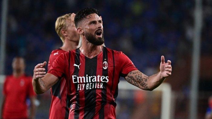 LIGA ITALIA: Debut Manis di San Siro, Olivier Giroud: Bangga Bermain untuk Milan