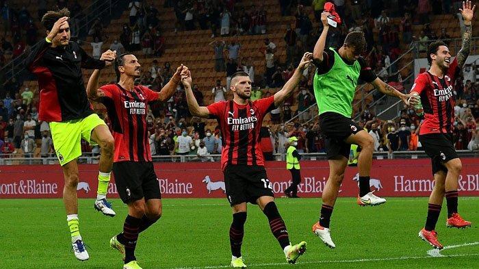 LIGA ITALIA: Skor Pemain AC Milan, Romagnoli, Tomori, Tonali, Franck Kessie, Ibrahimovic MOTM