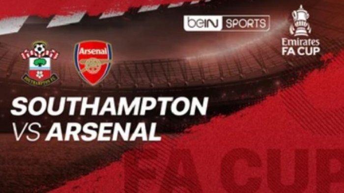 LINK Live Streaming BeIN SPORTS 1 Southampton vs Arsenal Kick Off Pukul 19.15 WIB