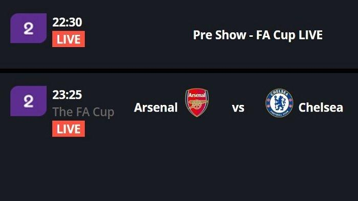 LINK Live Streaming BeIN SPORTS 2/ RCTI Arsenal vs Chelsea Final Piala FA