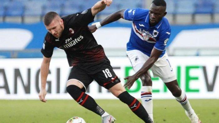 LINK Live Streaming BeIN SPORTS 2 RCTI Sampdoria vs AC Milan - Prediksi Formasi H2H Line Up & SKOR