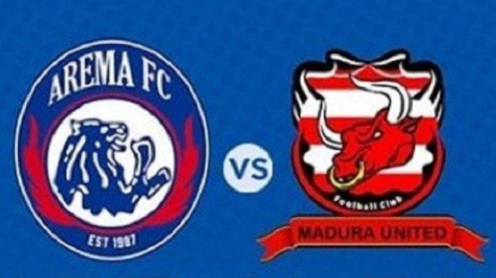 SEDANG BERLANGSUNG Live Streaming Arema FC vs Madura United, Berikut Susunan Pemain Kedua Tim